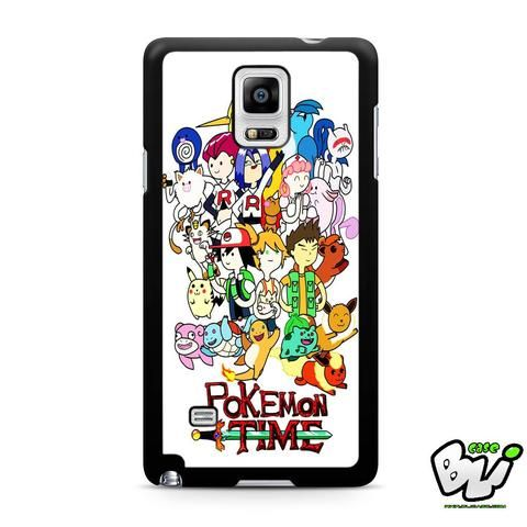 Adventure Pokemon Time Samsung Galaxy Note 4 Case