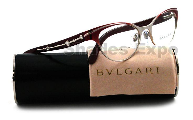Bvlgari Eyeglasses | Details about NEW Bvlgari Eyeglasses BV 2120TB BORDO 4077 BV2120 AUTH