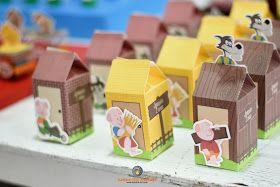 Lembra-Art Produções: Festa três porquinhos