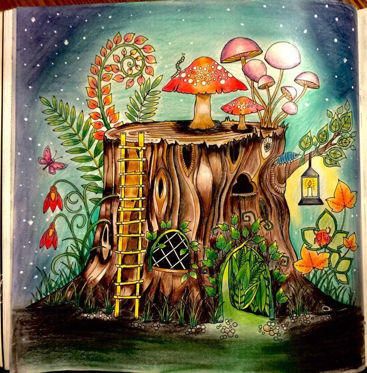 904 best Enchanted Forest Coloring Book images on Pinterest ...