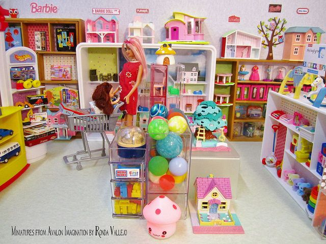 1:6th Scale Barbie Toy Store Diorama | Flickr - Photo Sharing!
