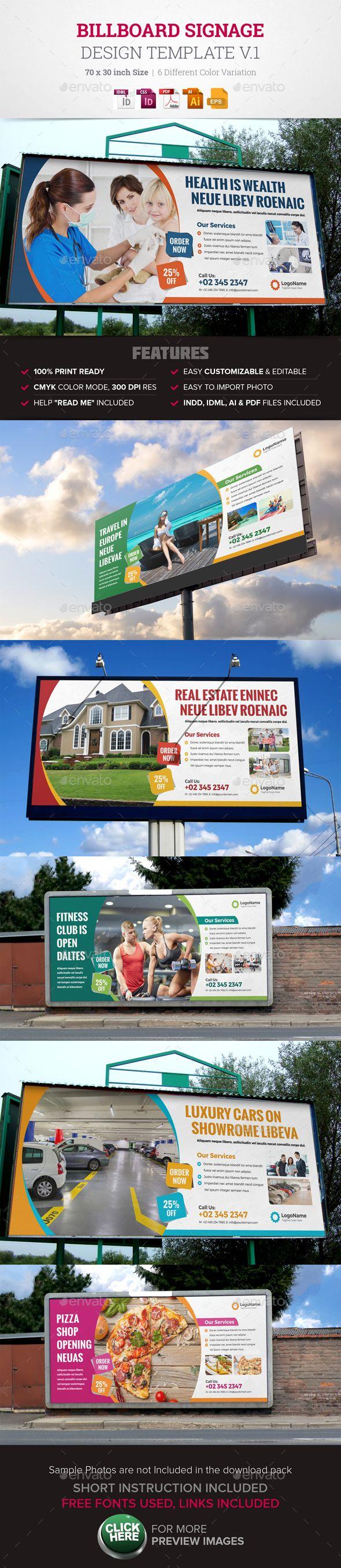 Real estate billboard design samples - Billboard Signage Design V1