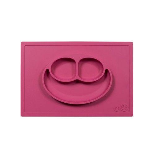 Le Happy Mat de EZ PZ est un set de table et une assiette tout-en-un en silicone de grande qualité. Cette matière lui permet d'adhérer à la table et de devenir impossible à déplacer par des petites mains. Hygiénique, le Happy Mat est facile à nettoyer et passe au lave-vaisselle. Avec sa hauteur de 3 cm, le bol peut contenir différents types d'aliments, comme des pâtes, de la purée, des céréales ou des fruits. Sa taille lui permet son utilisation sur la plupart des plateaux de chaises ...