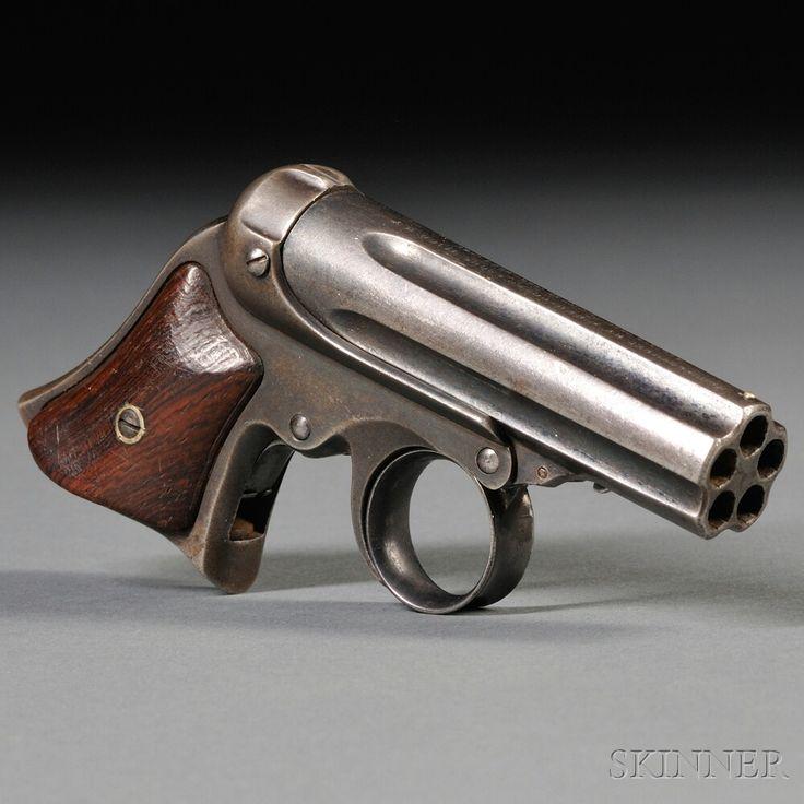 Remington-Elliot Five-shot Pepperbox Pistol, c. 1860s-1870s