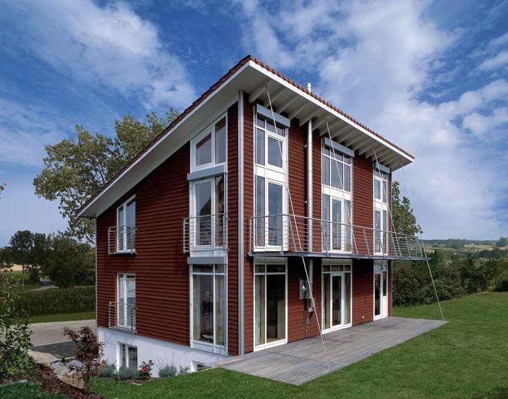 Pin von hausbaudirekt auf hausbaudirekt house styles for Architekt alternative jobs