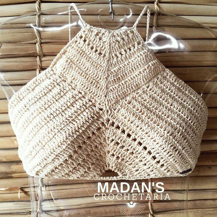 662 best top crochet images on Pinterest | Crochet, Crochet tops and ...