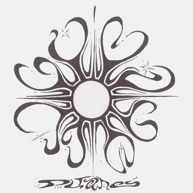 tribal sun moon designs - Google Search