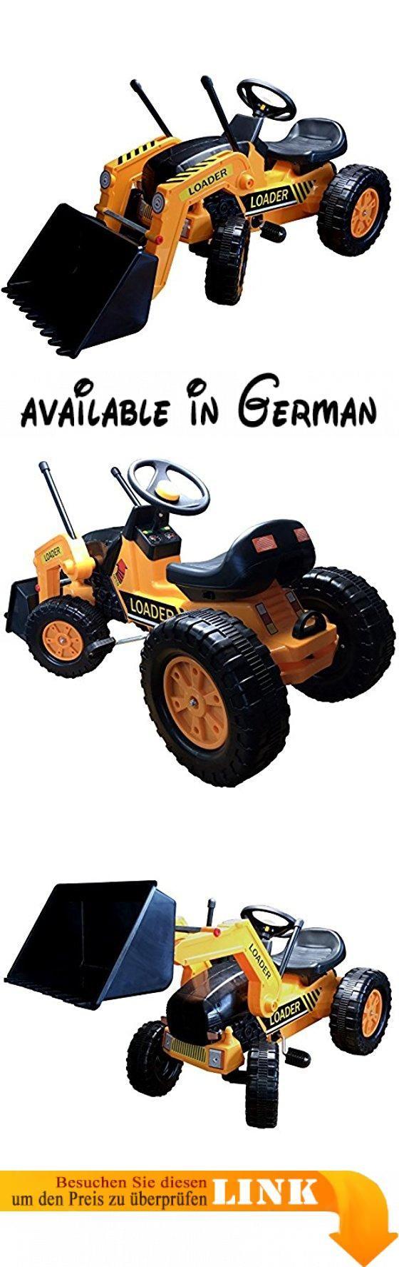 Kinder Trettraktor Kindertraktor Frontlader Loader Traktor Trekker Kinder Trettraktor Pedaltraktor (Profi mit Frontlader). Kindertraktor im coolen orange. für Jungen und Mädchen. wahlweise als Profi oder Profi mit Frontlader. mit Anhängerkupplung #Toy #TOYS_AND_GAMES