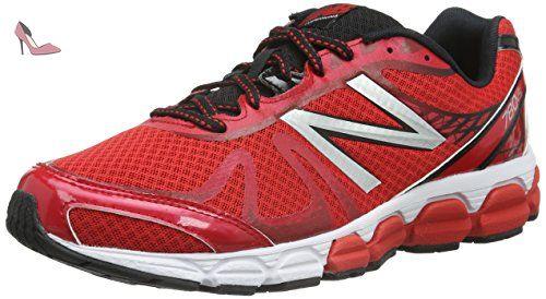 New Balance Tennis Retro Lifestyle Suede/Textile, Chaussures de Gymnastique Homme, Rouge (Rosso), 44.5 EU