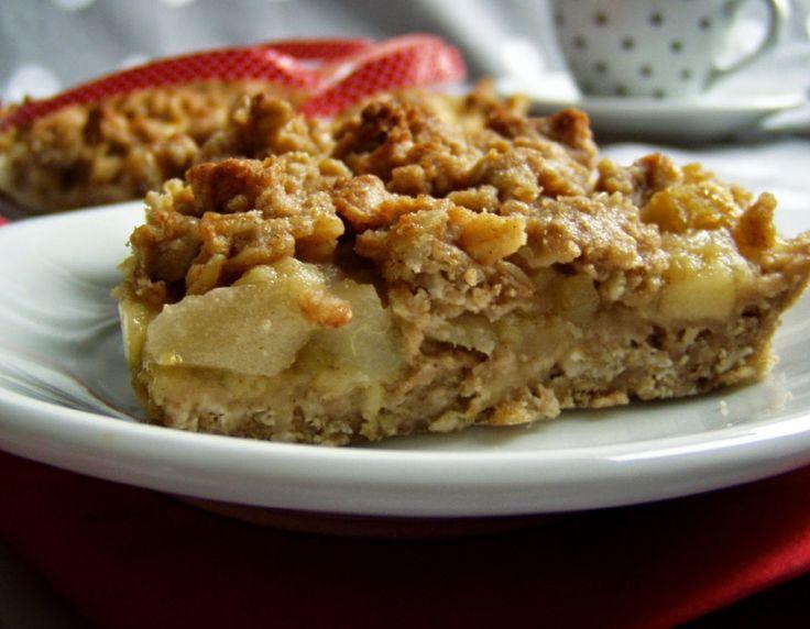 TynaTyna: Jablečno-hruškový celozrnný koláč
