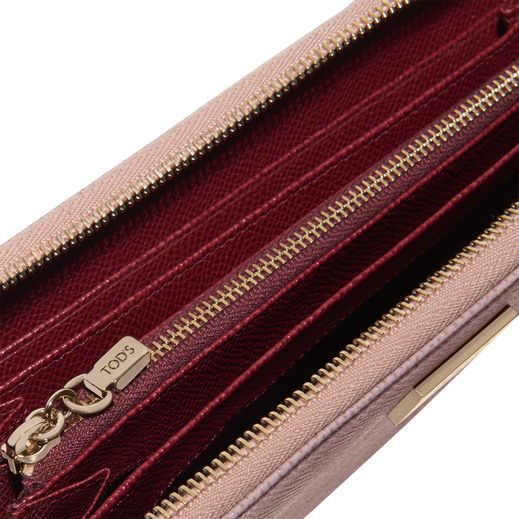 Leather Zip Wallet XAWDSPAD400DOU0N70 - 1