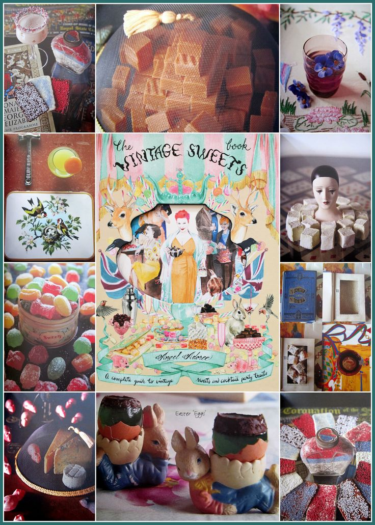 The Vintage Sweets Book by Angel Adoree | homeiswheretheboatis.net