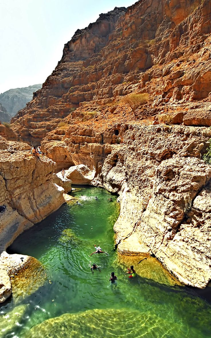 Wadi Shab Photos 2017