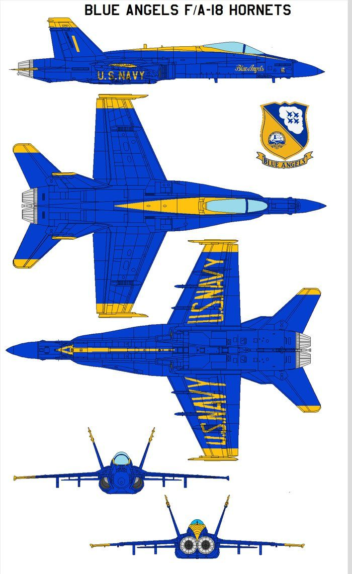 The Blue Angels F/A-18 Hornets The U. S. Navy's Flight Demonstration Squadron The Blue Angels' mission is to enhance Navy and Marine Corps recruiting efforts and to represent the naval ...
