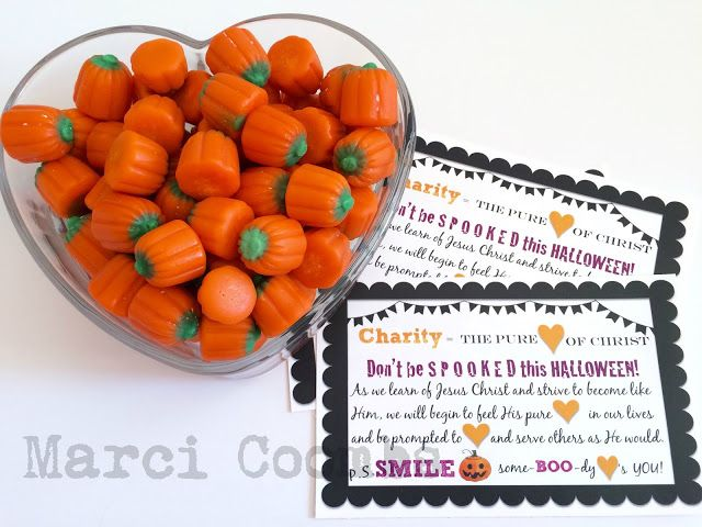 October Visiting Teaching Handouts on CHARITY with FREE printables! From Marci Coombs Blog