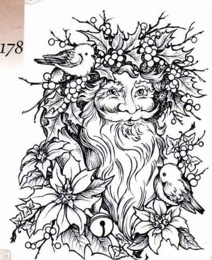 Pin by Lisa Weaver on Coloring Pages Pagan Christmas