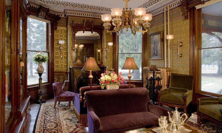 "steampunktendencies: ""1878 Victorian mansion in Dutchess County, New York. [Via Victorian Houses] """