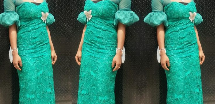To dress up for a Nigerian wedding, think Nigerian fashion, wear Nigerian fashion. Of