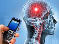 Which ear you hold your cell phone to may reveal brain dominance Researchers at Henry Ford Hospital in Detroit say that, similar to handedness, most people who hold their cell phones to their left ear are right-hemisphere dominant and vice versa.