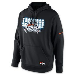 Men's Nike Denver Broncos NFL Glove Lockup Hoodie | FinishLine. #ShopSouthlands