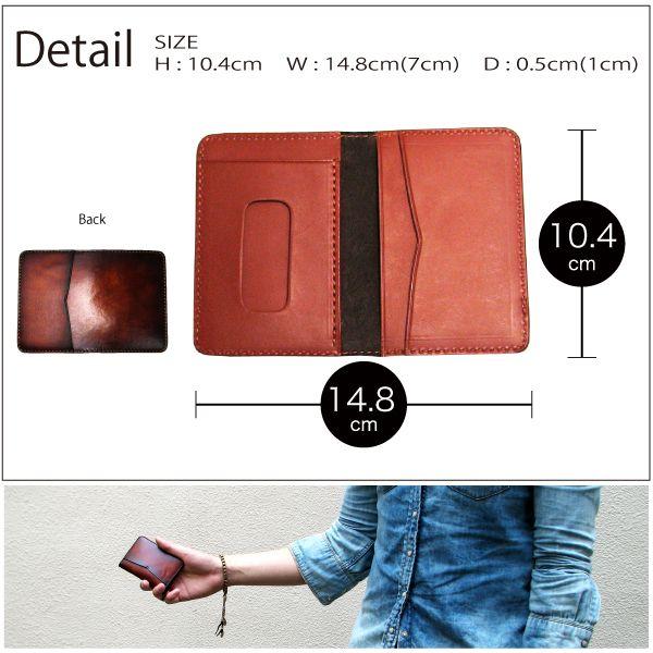 gir-pinkwood | Rakuten Global Market: Cowhide two-fold case le71