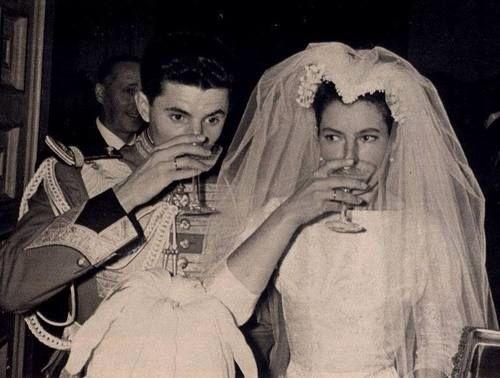 Princess Terese Maria of Bourbon -Two Sicilies married Don Inigo Moreno y Artega 16 April 1961