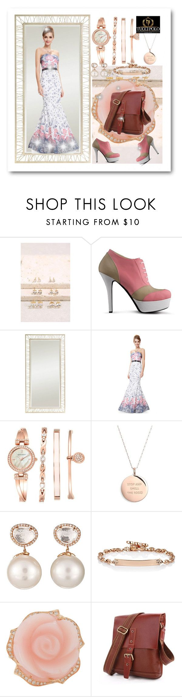 """Untitled #558"" by ane-twist ❤ liked on Polyvore featuring Stanley Furniture, WithChic, Anne Klein, Kate Spade, Samira 13, Hoorsenbuhs, Irene Neuwirth, vintage and sthash"