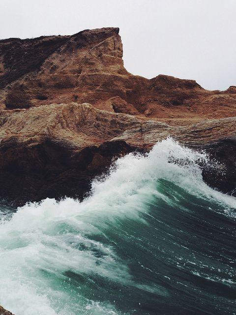 fracas des vagues