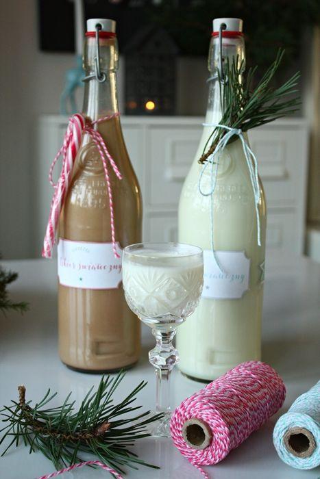 Świąteczny likier kokosowy i kukułka