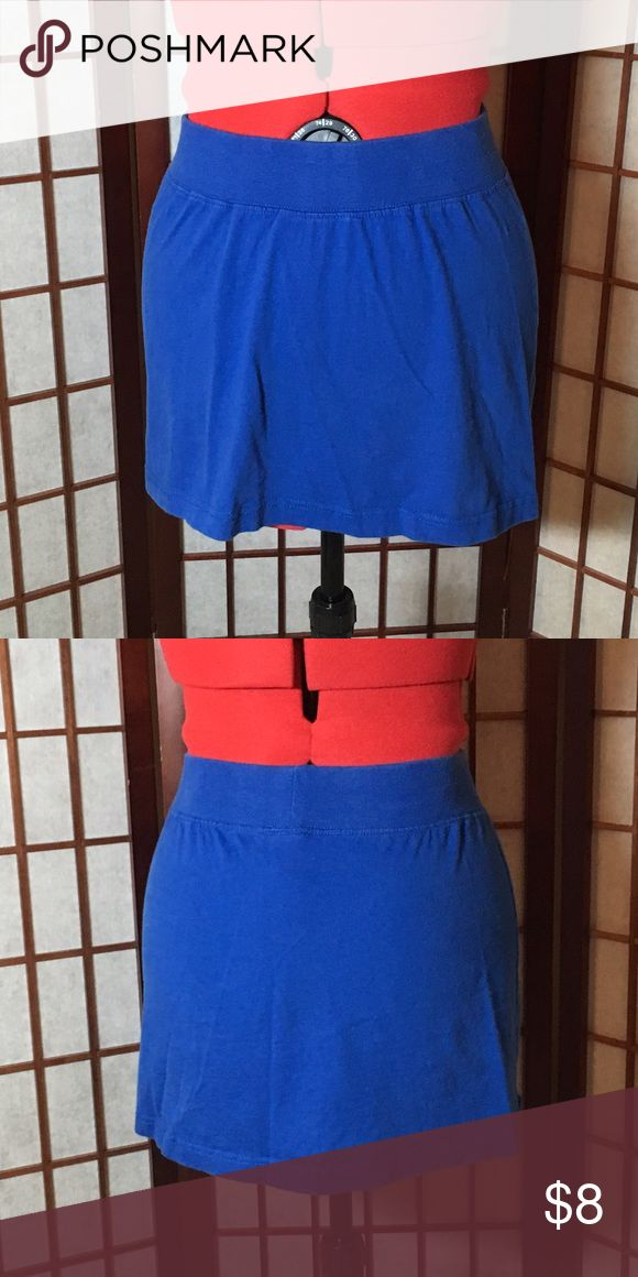 **REDUCED**Badger Sport Blue Skirt Badger Sport pretty blue skirt. 100% cotton. Machine washable. In excellent used condition. No rips, tears or stains. Badger Sport Skirts Mini
