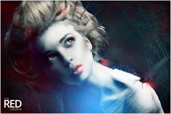 Todays #digital #art #photoshop #design #spiders #graphics #graphicart #web #dark #retouching