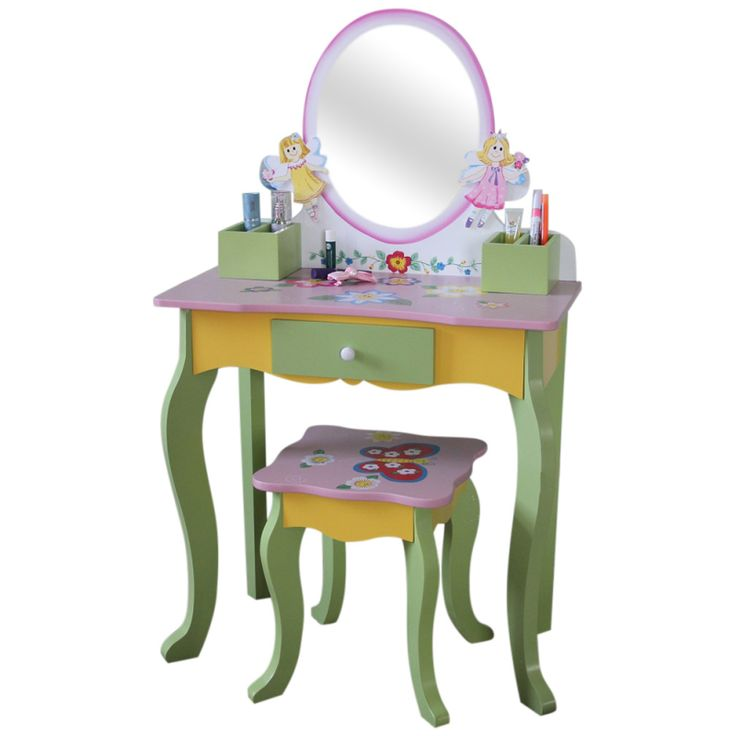 Wooden Fairy Collection - Dressing Table & Stool