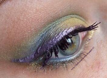Nuovo #post sul #blog: MAKEUPCHAIN#2...DIVENTA...RAINBOWCHAIN!  http://bellezzaprecaria.blogspot.it/2014/01/makeupchain2diventarainbowchain.html #bellezzaprecaria #makeupchain #rainbowchain #makeup #giallo #yellow #trucco #blogger #beauty