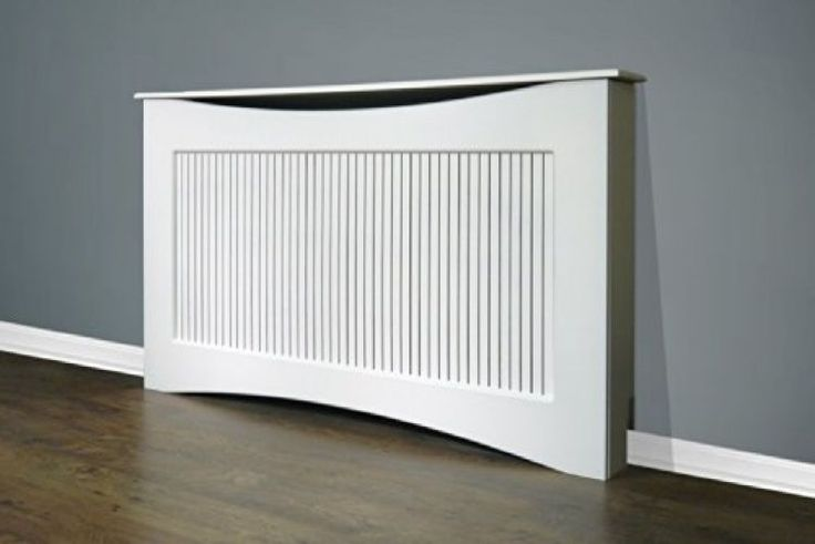 Adam Large Radiator Cover, 160 cm, White New FREE P and P