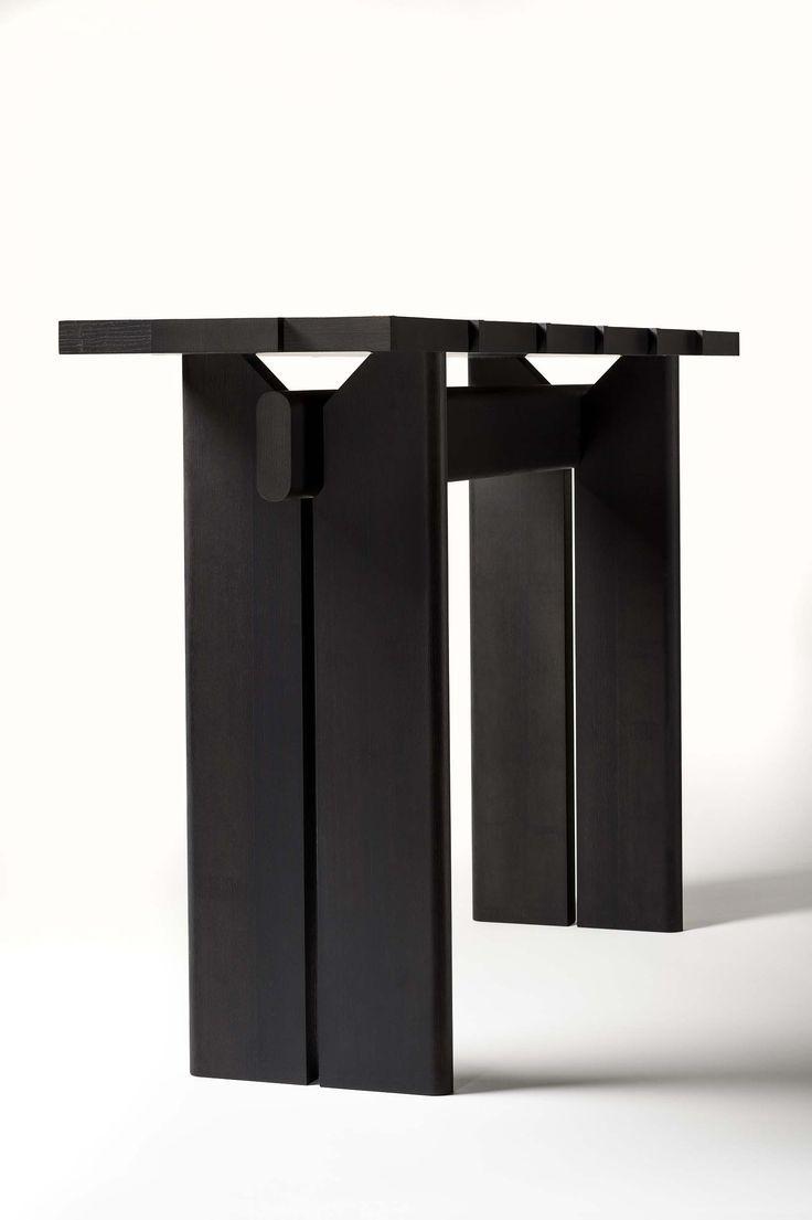 Terzo Console By Bruno Moinard Mobilier Contemporain Meuble Rangement Meuble Metal