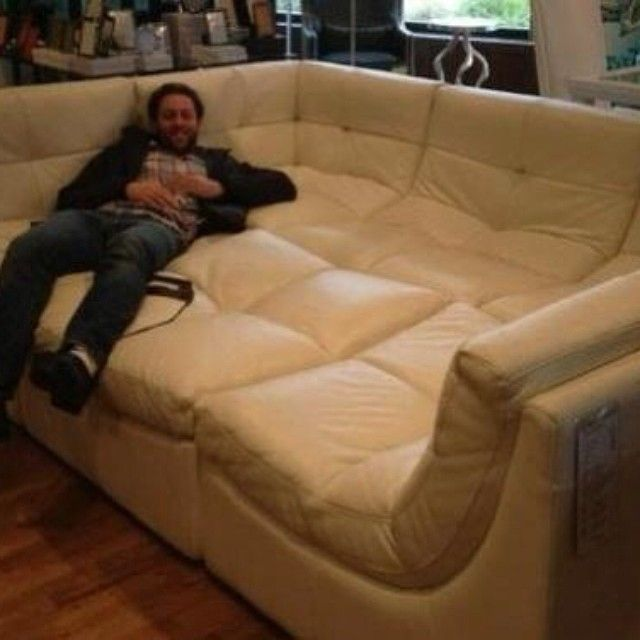 My kind of sofa!