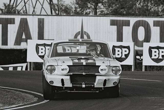 Chris Tuerlinckx/Claude Dubois/Pierre Noblet/Gustave 'Taf' Gosselin - Ford Mustang Shelby GT350 - 1967 24 Hueres du Mans