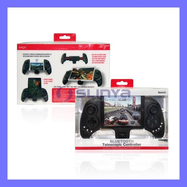 PG-9023 Wireless Bluetooth iPega Game Controller for Tablet PC Cell Phone US $290.32 /lot (10 pieces/lot) To Buy Or See Another Product Click On This Link  http://goo.gl/EuGwiH