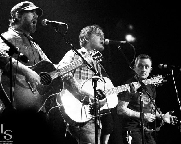 Chuck Ragan & Brian Fallon & Dave Hause - Revival Tour 3 of my life legends (one i actually met)