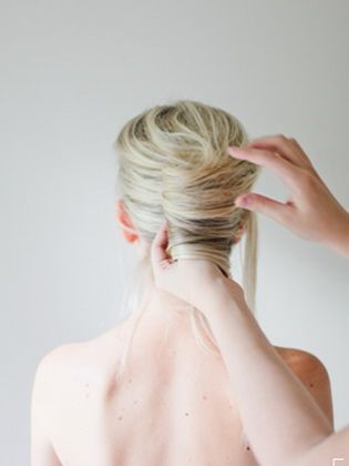 How To Make A Stylish Haircut French Twist #a #french #haarsc