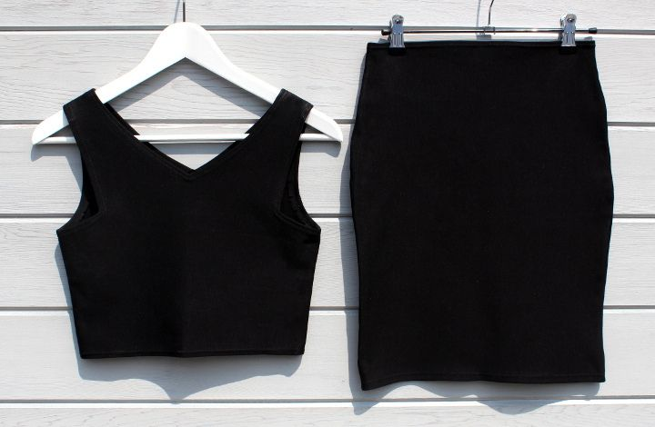 Me & Sew: CROP TOP & HIGH WAISTED SKIRT - FREE PATTERNS