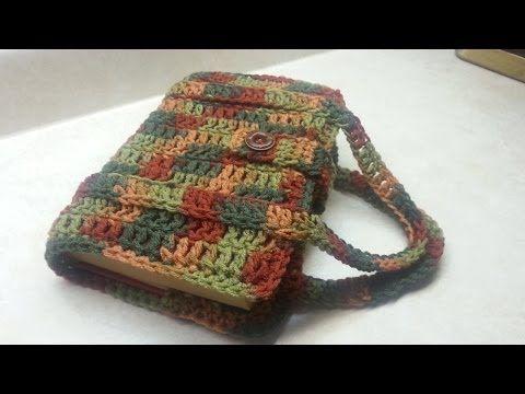 ▶ #Crochet Book Bag / Bible/Book Carrier #TUTORIAL - YouTube