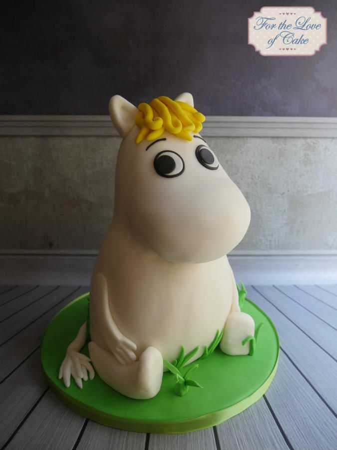 Moomin cake - Cake by For the love of cake (Laylah Moore)