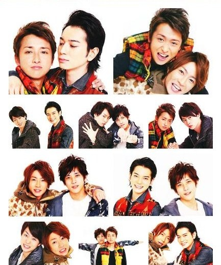 It's kind of difficult to put this into words, but for the sake of our group, Arashi, we all took on different responsibilities and we knew there wasn't anyone who would give up halfway, so we naturally were able to become close and form this bond we have now. - Aiba Masaki