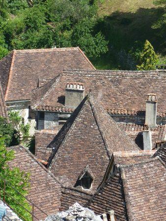 toits St Cirq Lapopie