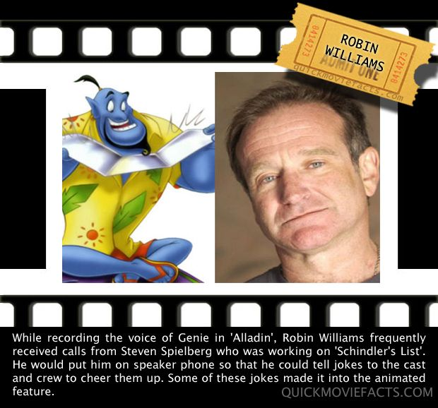 Fun fact #10: Robin Williams is one funny man even when he is being filmed in movies! facebook.com/moviecapitaldownloads