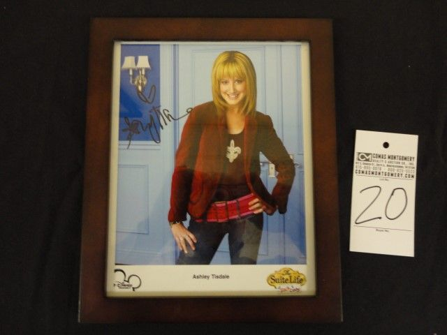 Ashley Tisdale Autographed Photo 8x10 Suite Life of Zack and Cody. Bid Now Online now until January 13th, 2015 at 6pm! http://comasmontgomery.com/index.php?ap=1&pid=41308