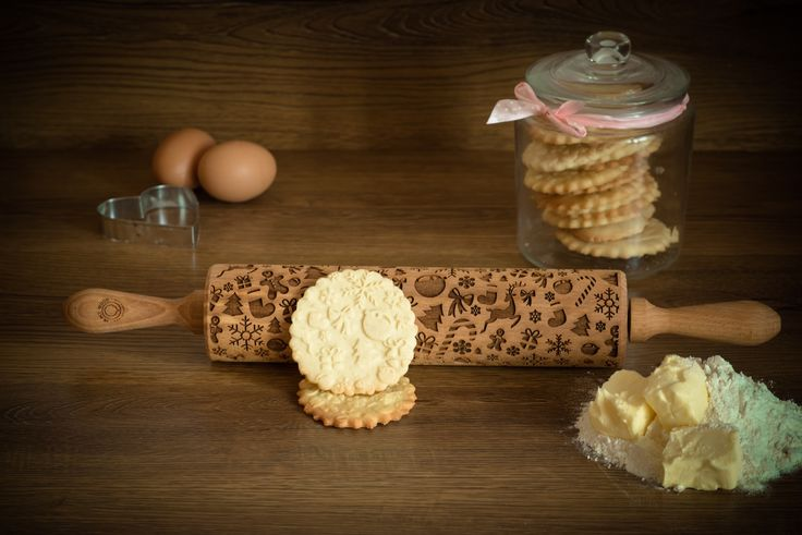 CHRISTMAS Rolling pin – In My Wood