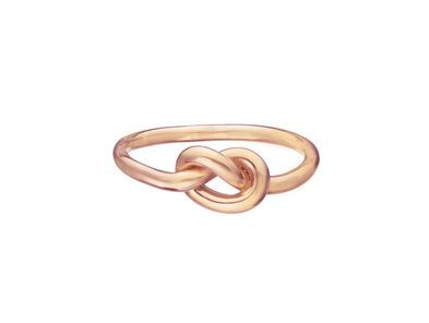 Love Knot Ring - Rose Gold: Knot Rings, Rose Gold