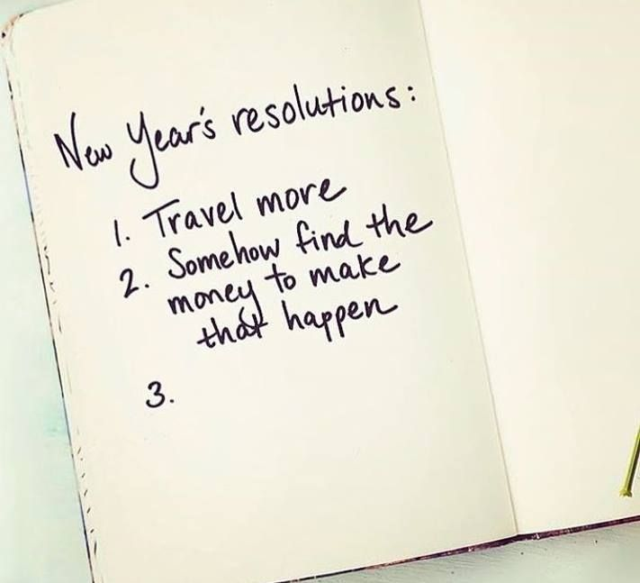 New Years resolutions: Travel more... #kilroy #travel #resolutions #travelquote #quote #mydream